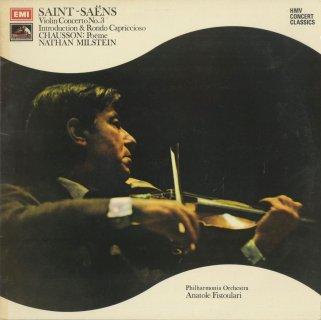 サン・サーンス:ヴァイオリン協奏曲3番,ショーソン:詩曲