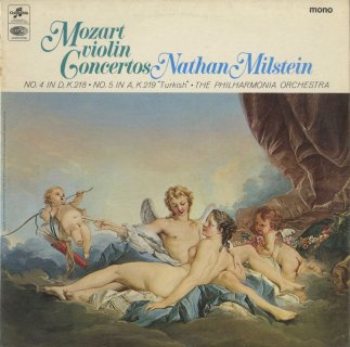 モーツァルト:ヴァイオリン協奏曲4番K.218,5番K.219「トルコ風」