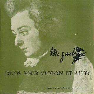 モーツァルト:ヴァイオリンとヴィオラのための二重奏曲1番K.423,2番K.424