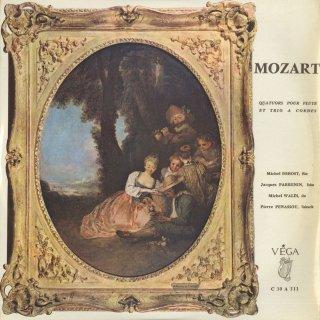 モーツァルト:フルート四重奏曲K.285,285a,285b,298