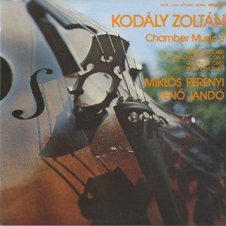 コダーイ:チェロ・ソナタOp.4,無伴奏チェロ・ソナタOp.8
