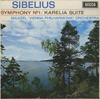 シベリウス:交響曲1番Op.39,組曲「カレリア」Op.11