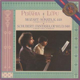 モーツァルト:2台のピアノのためのソナタK.448,シューベルト:幻想曲
