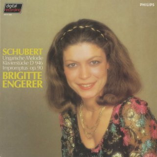 シューベルト:ハンガリーのメロディ,4つの即興曲集,3つのピアノ曲