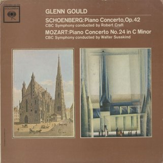 シェーンベルク:ピアノ協奏曲Op.42,モーツァルト:ピアノ協奏曲24番K.491