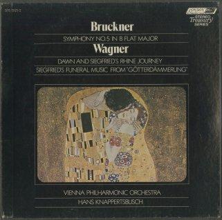 ブルックナー:交響曲5番(改訂版),ワーグナー:神々の黄昏〜ジークフリートのラインの旅,葬送行進曲