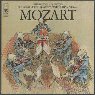 モーツァルト:弦楽五重奏曲(全6曲)