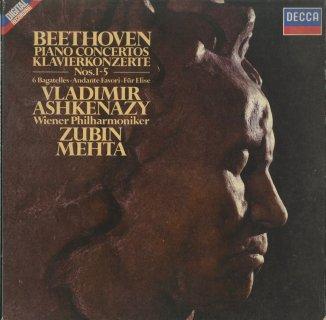 ベートーヴェン:ピアノ協奏曲(全5曲),6つのバガデルOp.126,アンダンテ・ファヴォリ,エリーゼのために