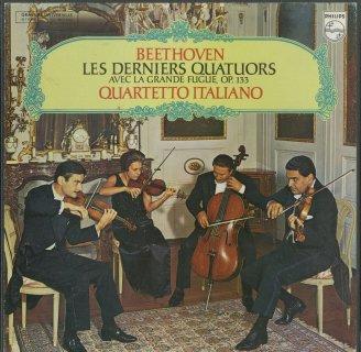 ベートーヴェン:弦楽四重奏曲12〜16番,大フーガOp.133(後期セット)