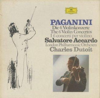 パガニーニ:ヴァイオリン協奏曲(全6曲)