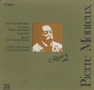 「1955年パリ・コンサート」ベートーヴェン:交響曲7番,ドビュッシー:遊戯,ストラヴィンスキー:ペトルーシュカ〜4曲,ワーグナー:オランダ人〜序曲