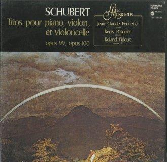 シューベルト:ピアノ・トリオ1番Op.99,2番Op.100