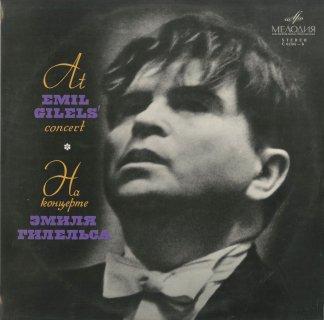 バッハ(ブゾーニ編):前奏曲とフーガBWV.532,ベートーヴェン:「森のおとめ」のロシア舞曲による12の変奏曲,32の変奏曲,6つの変奏曲Op.76