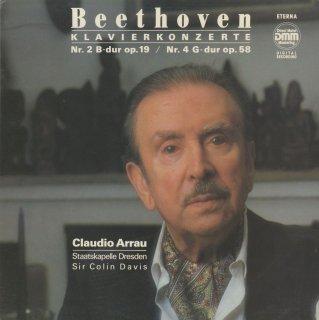 ベートーヴェン:ピアノ協奏曲2番Op.19,4番Op.58