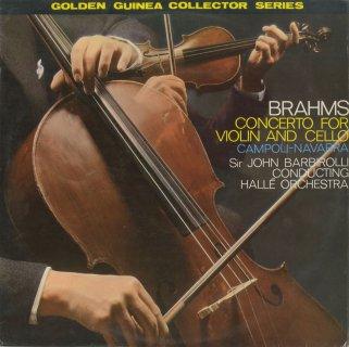 ブラームス:ヴァイオリンとチェロのためのの二重協奏曲Op.102,大学祝典序曲Op.60