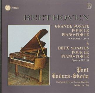 ベートーヴェン:ピアノ・ソナタ21番Op.53「ワルトシュタイン」,24番Op.78,27番Op.90