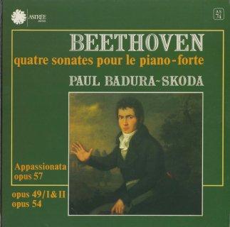 ベートーヴェン:ピアノ・ソナタ19番Op.49-1,20番Op.49-2,22番Op.54,23番Op.57「熱情」