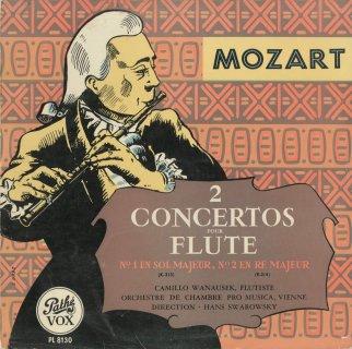 モーツァルト:フルート協奏曲1番K.313,2番K.314