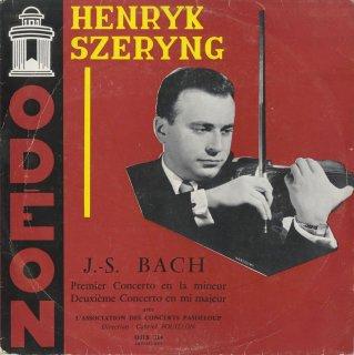 バッハ:ヴァイオリン協奏曲1番BWV.1041,2番BWV.1042
