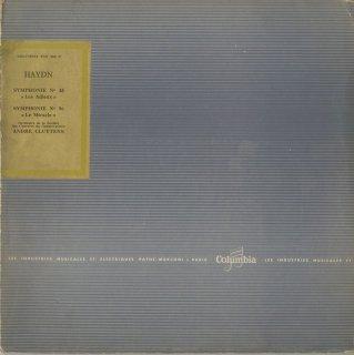 ハイドン:交響曲45番「告別」,96番「奇跡」