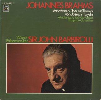 ブラームス:ハイドン変奏曲Op.56a,大学祝典序曲Op.80,悲劇的序曲Op.81