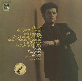モーツァルト:ピアノ協奏曲22番K.482,ロンドK.382
