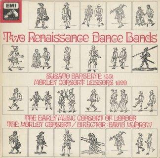 「ルネサンス舞曲集」スザート:12の舞曲,モーリー:「コンソートの練習のための第1集」〜舞曲(9曲)