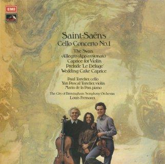 サン・サーンス:チェロ協奏曲1番,白鳥,アレグロ・アッパッシオナートOp.43,奇想曲,前奏曲,ウェディング・ケーキOp.76