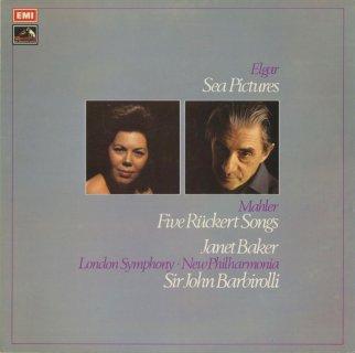 エルガー:海の絵Op.37,マーラー:5つのリュッケルトの歌