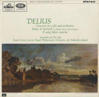 ディーリアス:チェロ協奏曲,別れの歌〜5曲,夜明け前の歌