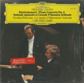 ショパン:ピアノ協奏曲2番Op.21,華麗な大ポロネーズOp.22