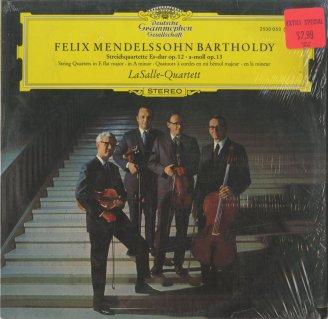 メンデルスゾーン:弦楽四重奏曲1番Op.12,2番Op.13