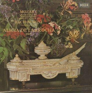 モーツァルト:ピアノ・ソナタK.331,ロンドK.485,幻想曲K.475,バッハ(ブゾーニ編):シャコンヌ