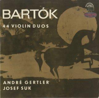 バルトーク:44のヴァイオリン二重奏曲