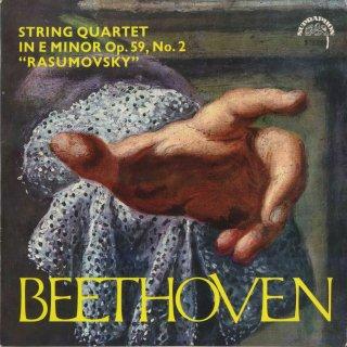 ベートーヴェン:弦楽四重奏曲8番Op.59-2「ラズモフスキー2番」