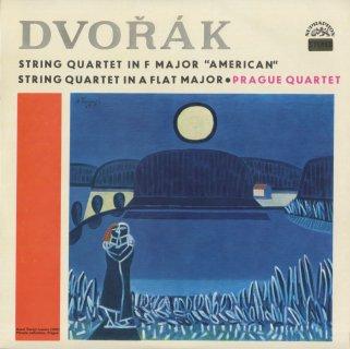 ドヴォルザーク:弦楽四重奏曲12番Op.96「アメリカ人」,14番Op.105