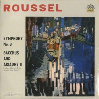 ルーセル:交響曲3番Op.42,「バッカスとアリアドネ」第2組曲Op.43