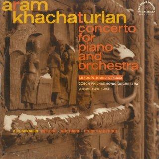 ハチャトゥリャン:ピアノ協奏曲,スクリャービン:前奏曲Op.9-1,夜想曲Op.9-2,エチュードOp.8-12