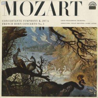 モーツァルト:協奏交響曲K.Anh.9(K.297b),ホルン協奏曲3番K.447