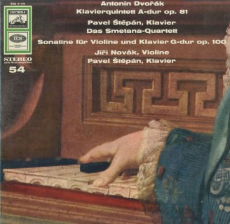 ドヴォルザーク:ピアノ五重奏曲Op.81,ソナチネOp.100