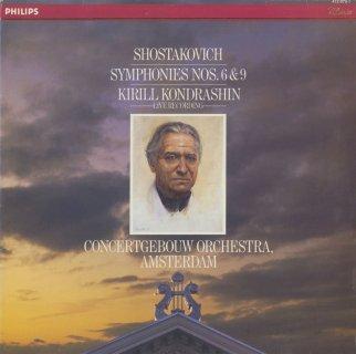 ショスタコーヴィチ:交響曲6番Op.54,9番Op.70