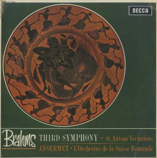 ブラームス:交響曲3番Op.90,ハイドン変奏曲Op.56a