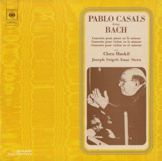 バッハ:ヴァイオリン協奏曲1番BWV.1041,BWV.1052(チェンバロ協奏曲),ピアノ協奏曲5番BWV.1056