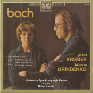 バッハ:2つのヴァイオリンのための協奏曲BWV.1043,1060,ヴァイオリン協奏曲1番BWV.1041