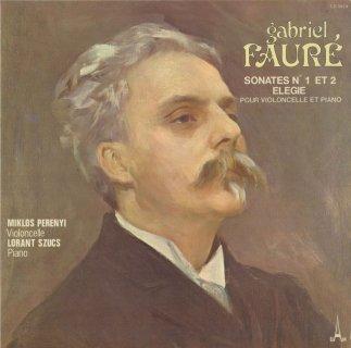 フォーレ:チェロ・ソナタ1番Op.109,2番Op.117,エレジーOp.24