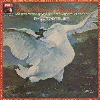 サン・サーンス:チェロ・ソナタ1番Op.32,白鳥,アレグロ・アパッシオナートOp.43,アンダンティーノ,夕べの鐘Op.85 他