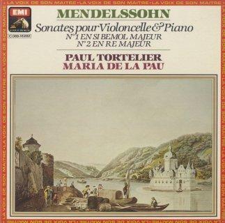 メンデルスゾーン:チェロ・ソナタ1番Op.45,2番Op.58