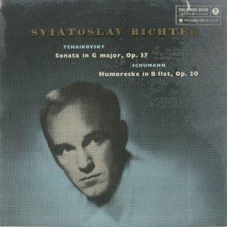 チャイコフスキー:ピアノ・ソナタOp.37,シューマン:フモレスケ(ユモレスク)Op.20