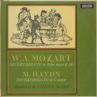 モーツァルト:ディヴェルティメント15番K.287,M.ハイドン:ディヴェルティメント