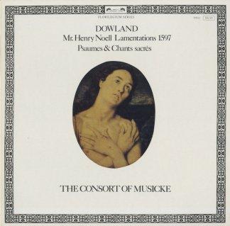 ダウランド:ヘンリー・ノエルのための弔歌,聖歌,詩篇